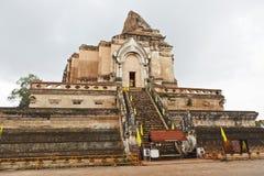 Wat Chedi Luang Tempel in Chiang Mai, Thailand. lizenzfreies stockfoto