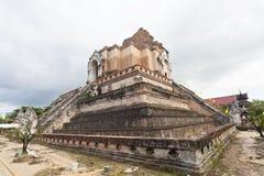 Wat Chedi Luang Tempel in Chiang Mai, Thailand. stockfoto