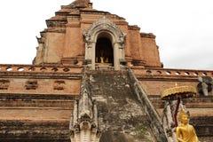 Wat Chedi Luang Temple, Chiang Mai Fotografía de archivo libre de regalías