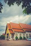 Wat Chedi Luang Temple, Chiang Mai, Tailândia imagem de stock royalty free
