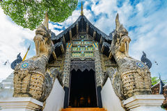 Wat Chedi Luang temple from Chiang Mai,Thailand stock photos