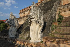 Wat Chedi Luang Temple Royalty Free Stock Image