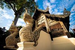 Wat Chedi Luang temple Royalty Free Stock Photos