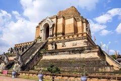 Wat Chedi Luang Varavihara, Чиангмай, Таиланд стоковая фотография
