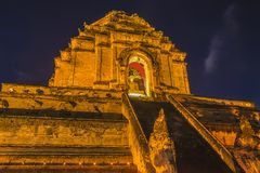Wat Chedi Luang Varavihara, Чиангмай, Таиланд стоковое изображение rf