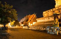 Wat Chedi Luang Varavihara Стоковая Фотография