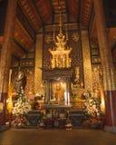 Wat Chedi Luang Varavihara, Chiang Mai, Tajlandia zdjęcia stock