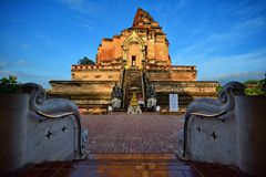 Wat Chedi Luang Varavihara Stock Image