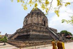 Wat Chedi Luang Worawihan royaltyfri fotografi