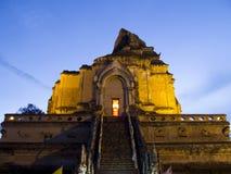 Wat Chedi Luang Worawihan at Chiangmai, Thailand Royalty Free Stock Image