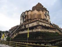 Wat Chedi Luang Worawihan at Chiangmai, Thailand. Stock Photo