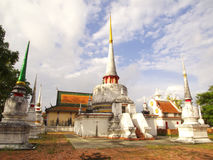 Wat Chedi Ngam Stock Photo