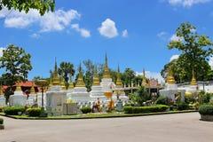 Wat Chedi Sao, Lampang, Tailandia Foto de archivo libre de regalías