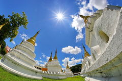 Wat Chedi Sao,Lampang,Thailand Royalty Free Stock Photo