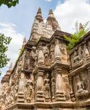 Wat Chedi Wat Chiang Mai, Thailand Arkivbild
