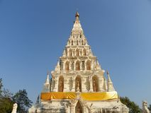 Wat chediliam temple Royalty Free Stock Photography