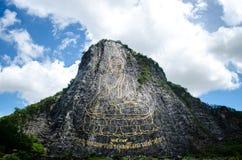Wat Cheechan Chonburi Tajlandia Zdjęcia Stock
