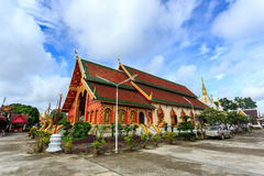 Wat Chet Yod temple in Thailand Stock Images