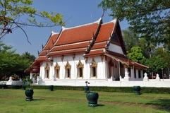 wat Таиланда chetiyaram amphawa стоковая фотография