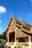 Wat at Chiang Mai. Wat at the Chiang Mai city, Thailand Royalty Free Stock Photos