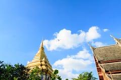 Wat at Chiang Mai. Wat at the Chiang Mai city, Thailand Royalty Free Stock Photo