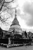 Wat at Chiang Mai. Wat at the Chiang Mai city, Thailand Stock Image