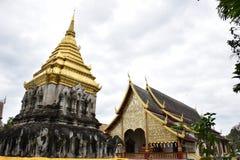 Wat Chiang Man Imagenes de archivo