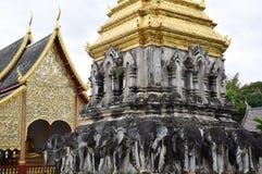 Wat Chiang Man Imágenes de archivo libres de regalías