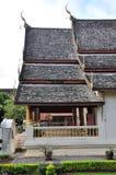 Temple at Wat Chiang Man Stock Image