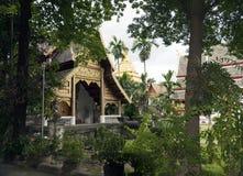 Wat Chiang Man byggdes i 1297 som templet för Chiang Mai ` s första på Royaltyfri Foto