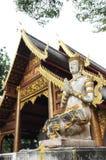 Wat Chiang Man, Chiang Mai, Tailandia Fotos de archivo