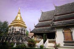 Wat Chiang Man, Chiang Mai, Tailandia Imagen de archivo libre de regalías