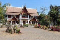 Wat Chiang Man - Chiang Mai - Thailand Fotografering för Bildbyråer
