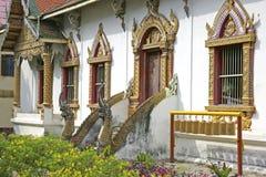 Wat Chiang Man i Chiang Mai, Thailand Royaltyfri Fotografi