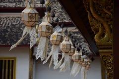 Wat Chiang Man Lanterns Fotografía de archivo