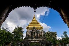 Wat Chiang Man in Chiang Mai, Nord-Thailand Lizenzfreies Stockfoto