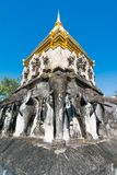 Wat Chiang Man-Tempel in Chiang Mai, Thailand Stockbild