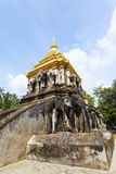 Wat Chiang Man temple in Chiang Mai, Thailand. Royalty Free Stock Images