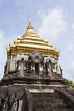 Wat Chiang Man temple in Chiang Mai, Thailand. Royalty Free Stock Photo