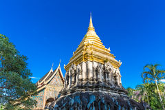 Wat Chiang Man temple in Chiang Mai, Thailand Stock Photos