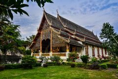 Wat Chiang Man temple in Chiang Mai, Thailand Royalty Free Stock Image