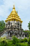 Wat Chiang Man temple Royalty Free Stock Images