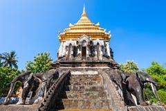 Wat Chiang Man. Temple in Chiang Mai, Thailand royalty free stock image