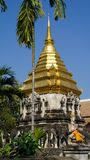 Wat Chiang Man temple in Thailand Royalty Free Stock Photo