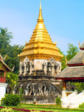 Wat Chiang Mann Stockfotos