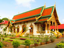 Wat Chiang Mann Lizenzfreies Stockfoto