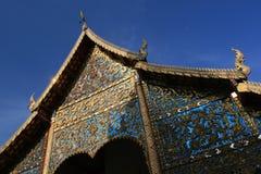 Wat chiang Mann, Chiang Mai, Thailand stockbilder