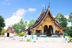 Wat Chiang Tong. Luang Prabang, Laos Royalty Free Stock Photos