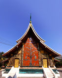 Wat Chiang Tong Stockbilder