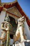 Wat在ChiangKhan 库存照片